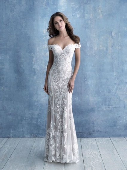 Allure Bridals Style 9704 wedding dress