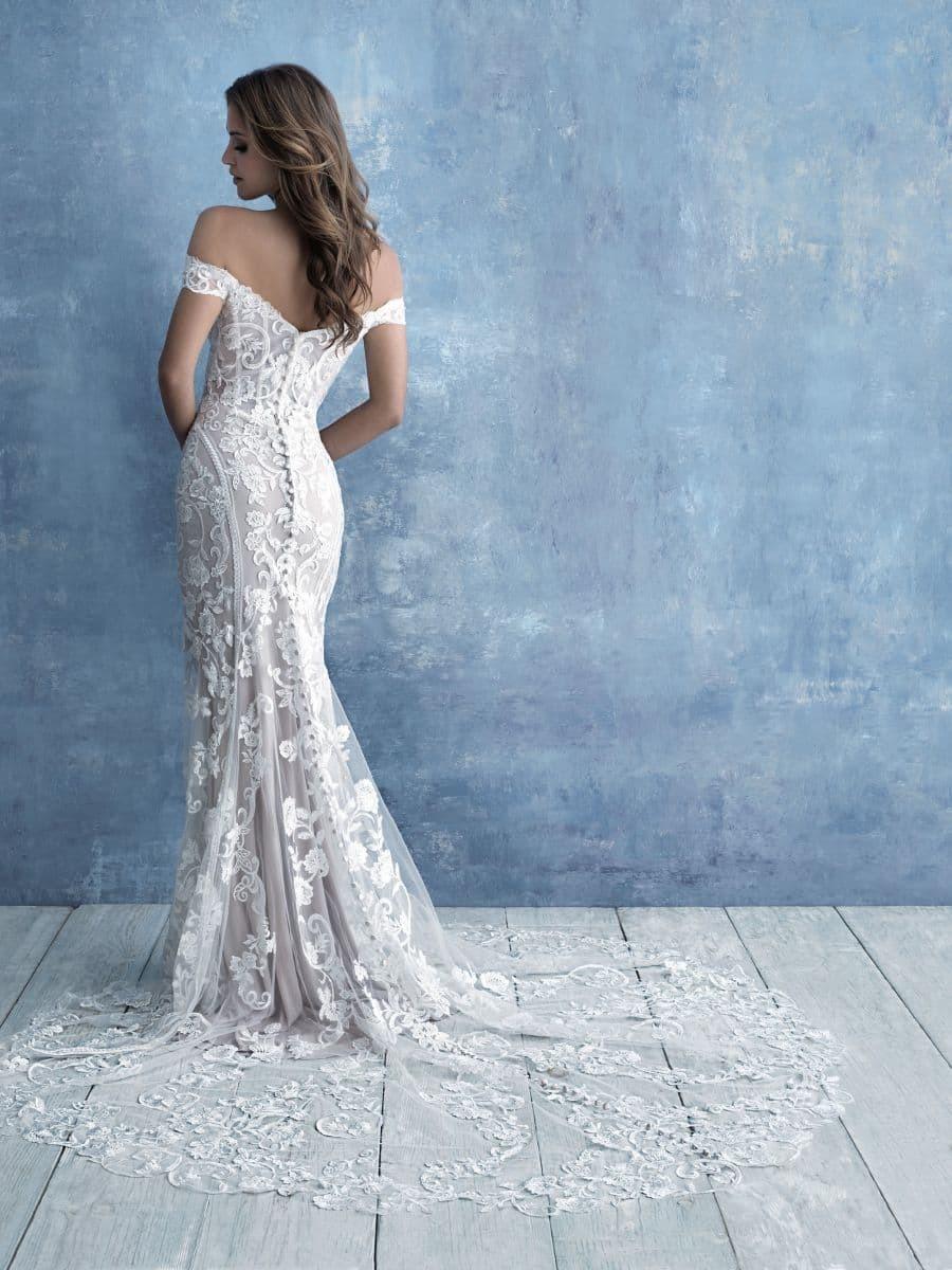 Allure Bridals Style 9704 wedding dress