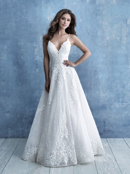 Allure Bridals Style 9718 wedding dress