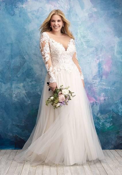 Allure Bridals Style W435 wedding dress