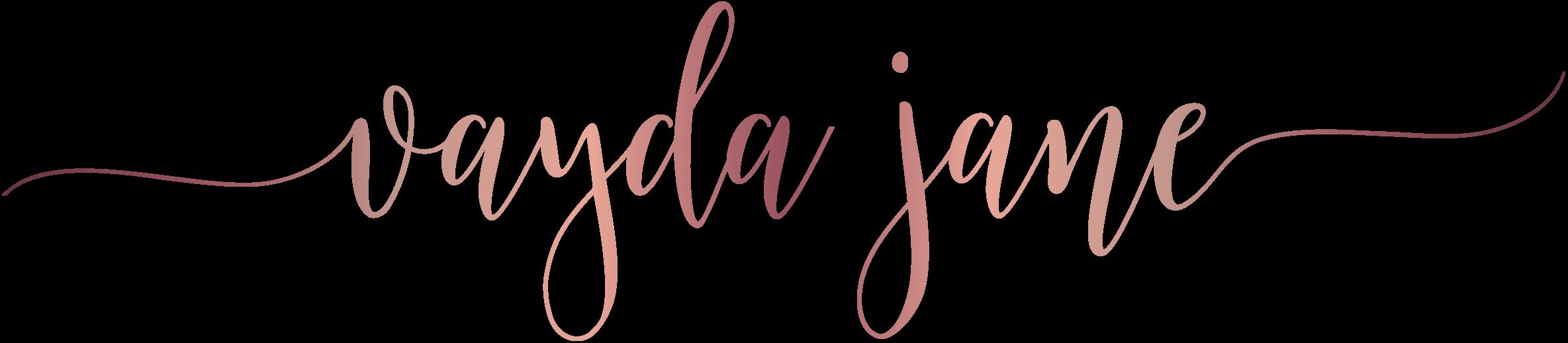 Vayda Jane logo