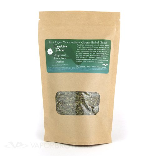 Vaporbrothers Organic Herbal Blend - Feeling Fine - Bulk - 1lb herbal blend, vaporizer blend, organic herbal blend