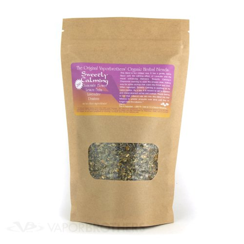 Vaporbrothers Organic Herbal Blend - Sweetly Calming - Bulk - 1lb herbal blend, vaporizer blend, organic herbal blend