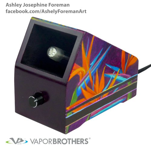 Ashley Josephine Foreman Vaporbrothers Vaporizer - Hands Free - 120V vapor brothers hands free vaporizer, whip, vaporbrothers, handsfree, box vaporizer, vaporbox, ceramic, glass pipes