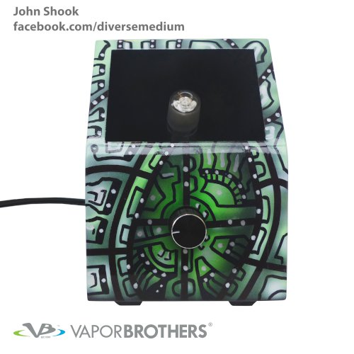 John Shook Vaporbrothers VB1 Vaporizer - Hands Free - 120V  - 8040-John-Shook