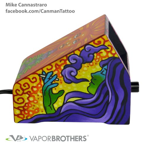 [SOLD] Canman (Mike Cannistraro) Vaporbrothers Vaporizer - Hands Free - 120V - 8040-Canman