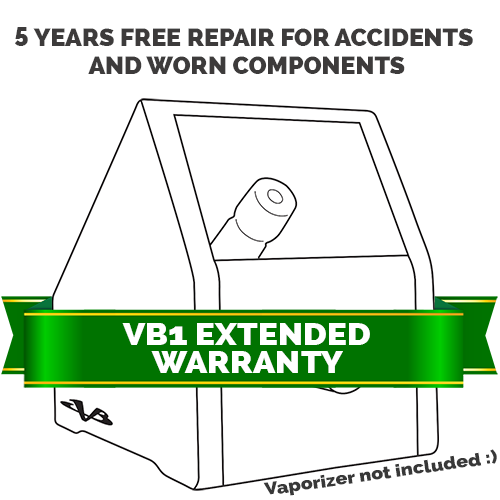 Expanded Warranty for VB1 Vapor Box warranty, reliable, protection