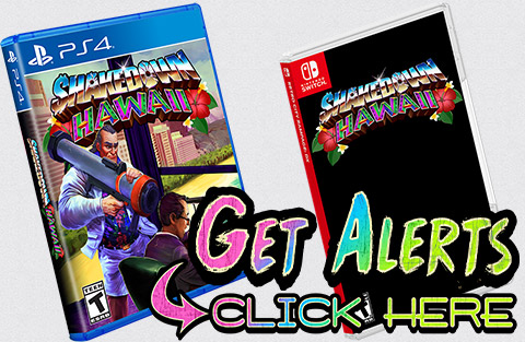 Shakedown: Hawaii Physical Releases | Vblank Entertainment Inc