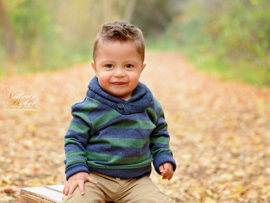 Orison - Adorable 1 year old session