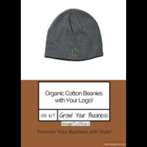 Organic Cotton Beanies w/ Your Logo!