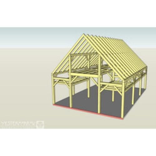 SketchUp for Timber Frame Design