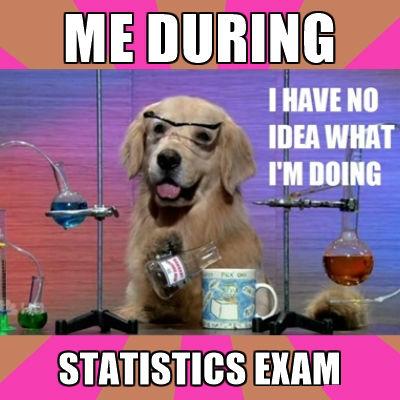 A meme about statistics.