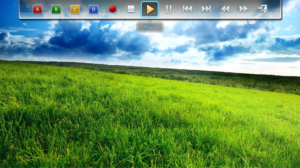 Picture 3-1. Color/Playback Control Menu