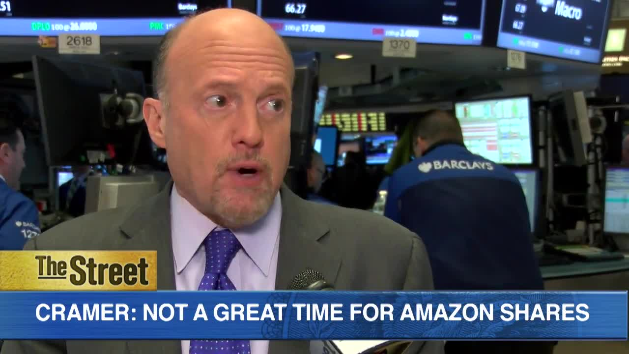Here's Why Jim Cramer Says It's not a Great Time to Own Amazon Shares