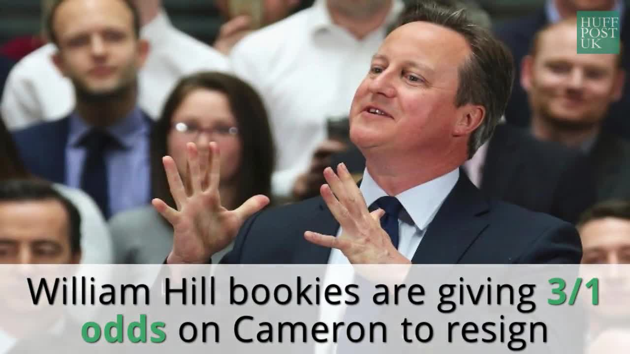Things have got rather awkward for David Cameron