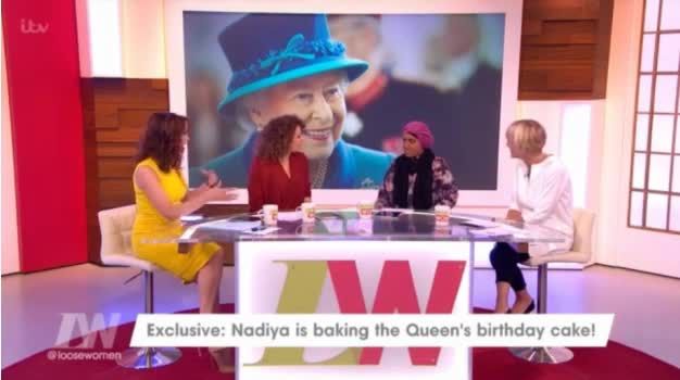 GBBO's Nadiya Hussain reveals she's making The Queen's 90th birthday cake
