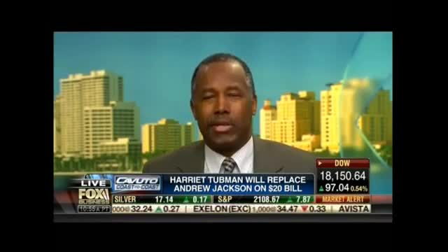 Ben Carson Wants Harriet Tubman On The $2 Bill