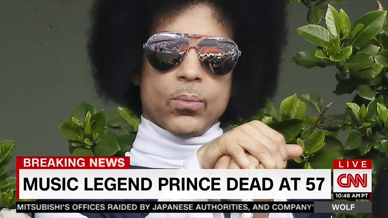 Wolf Blitzer Discusses Prince's 'Purple Haze' Song During Tribute To The Singer