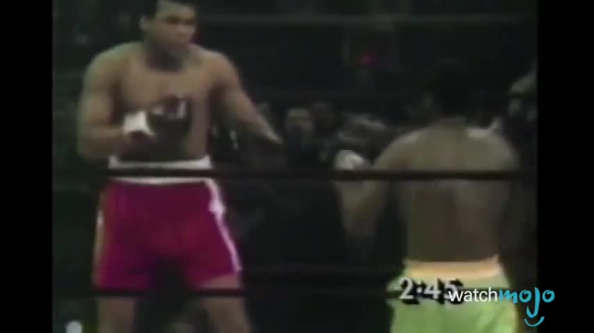 Top 10 Muhammad Ali Moments
