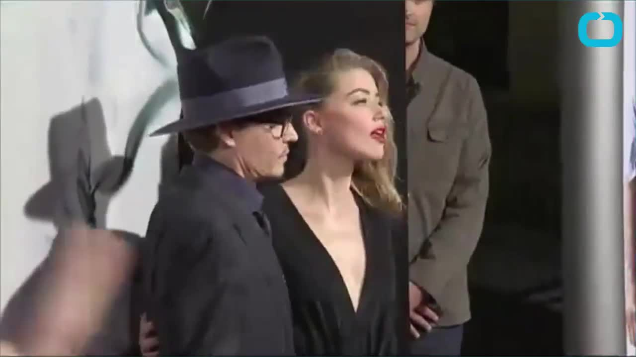Johnny Depp Hits First Red Carpet Since Breakup