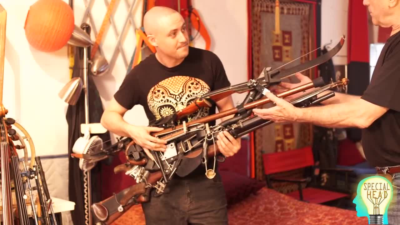 Man Turns Guns Into Musical Instruments