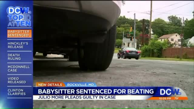 Man Sentenced for Beating Girlfriend's 2-Year-Old Daughter