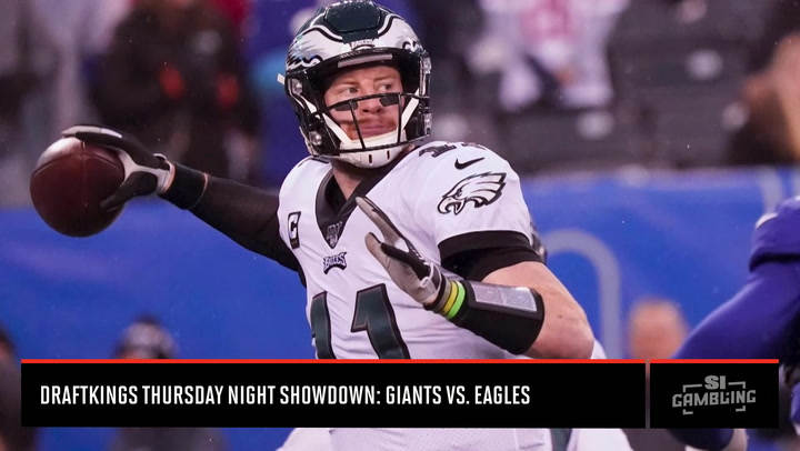Week 6 DraftKings Showdown: Giants vs. Eagles