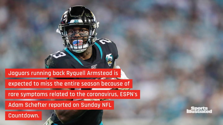 Jaguars Running Back Ryquell Armstead to Miss the Rest of the Season Due to Rare COVID-19 Symptoms