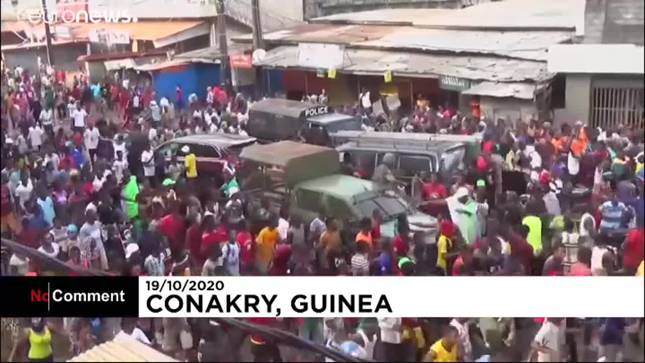 Cellou Dalein Diallo claims victory in Guinea presidential election