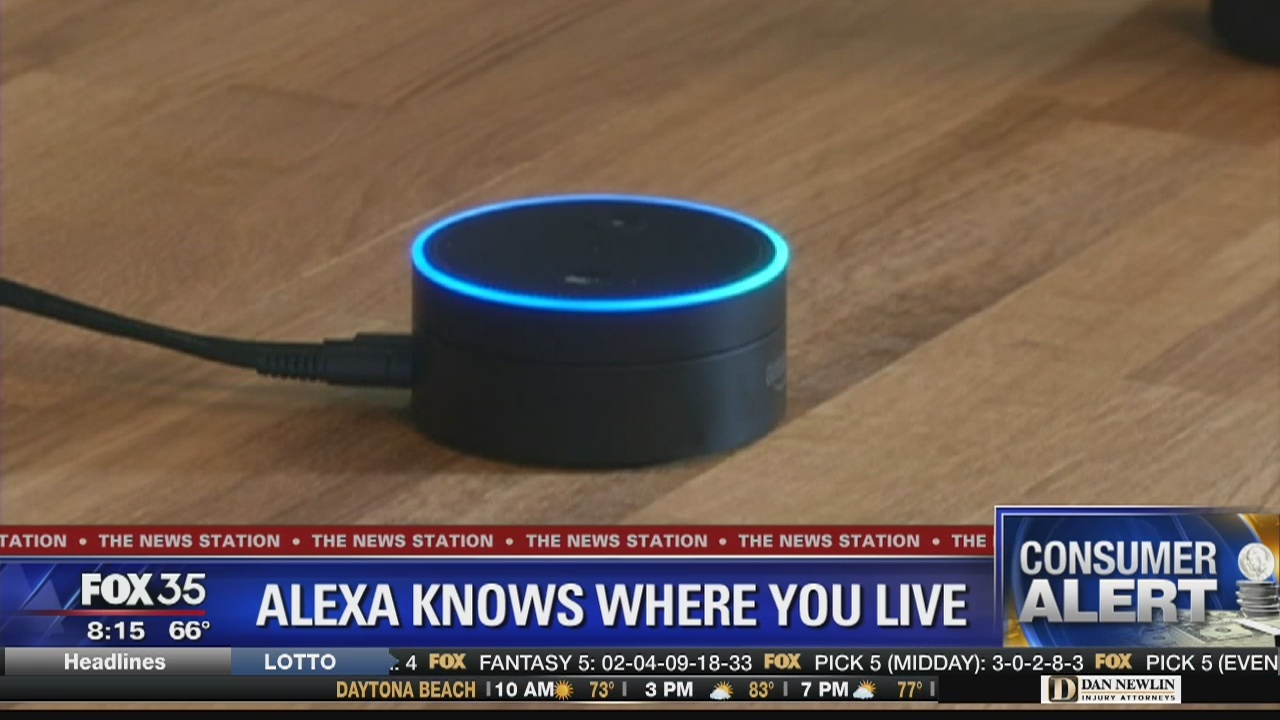 Hideout tv - Consumer Alert: Alexa knows where you live
