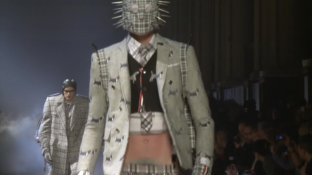 Paris / Thom Browne Menswear Fall/Winter 2012/13