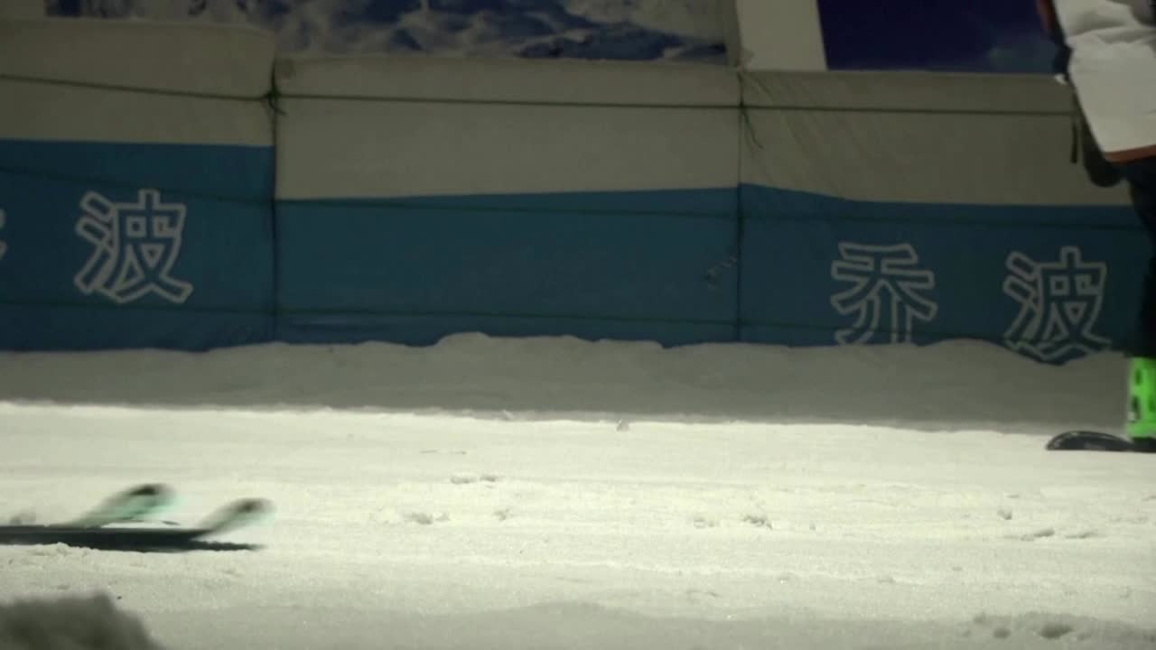 China pushes indoor slopes ahead of Winter Games