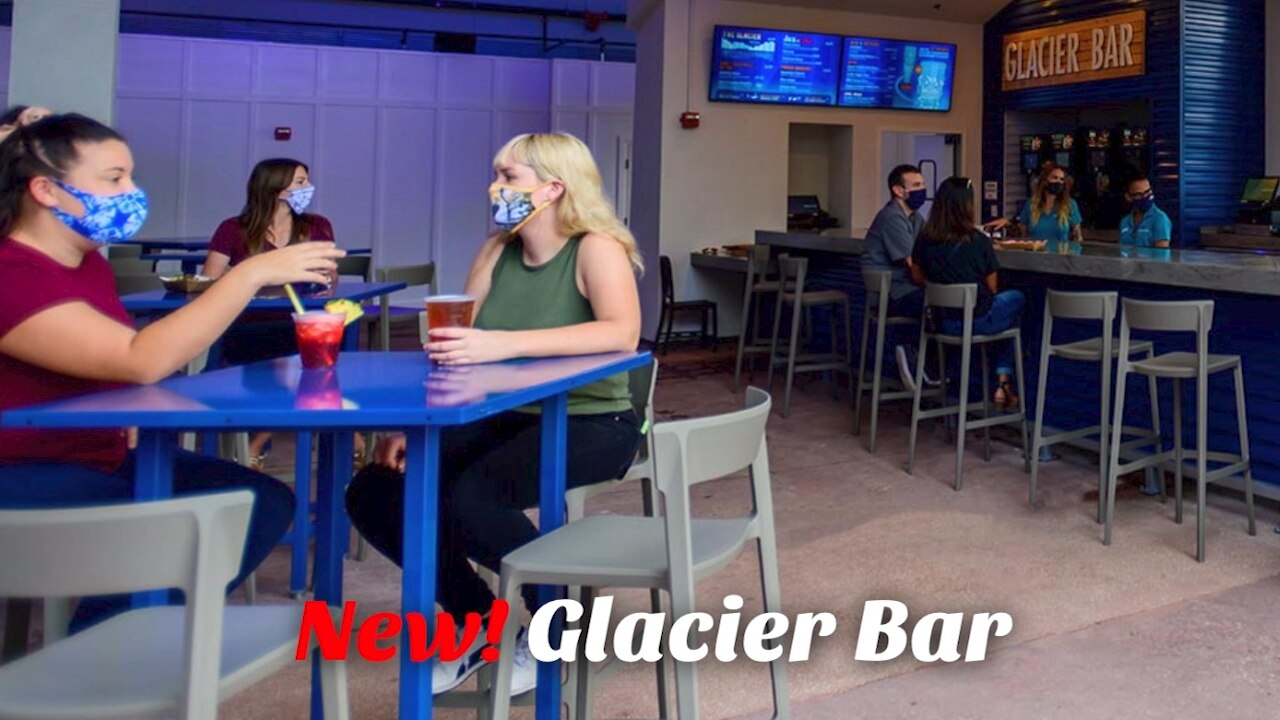SeaWorld opens new Glacier Bar