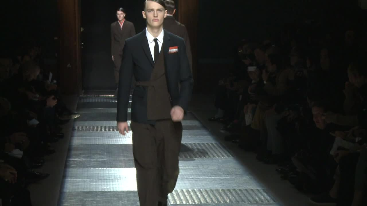 Paris / Kris Van Assche Menswear Fall/Winter 2012/