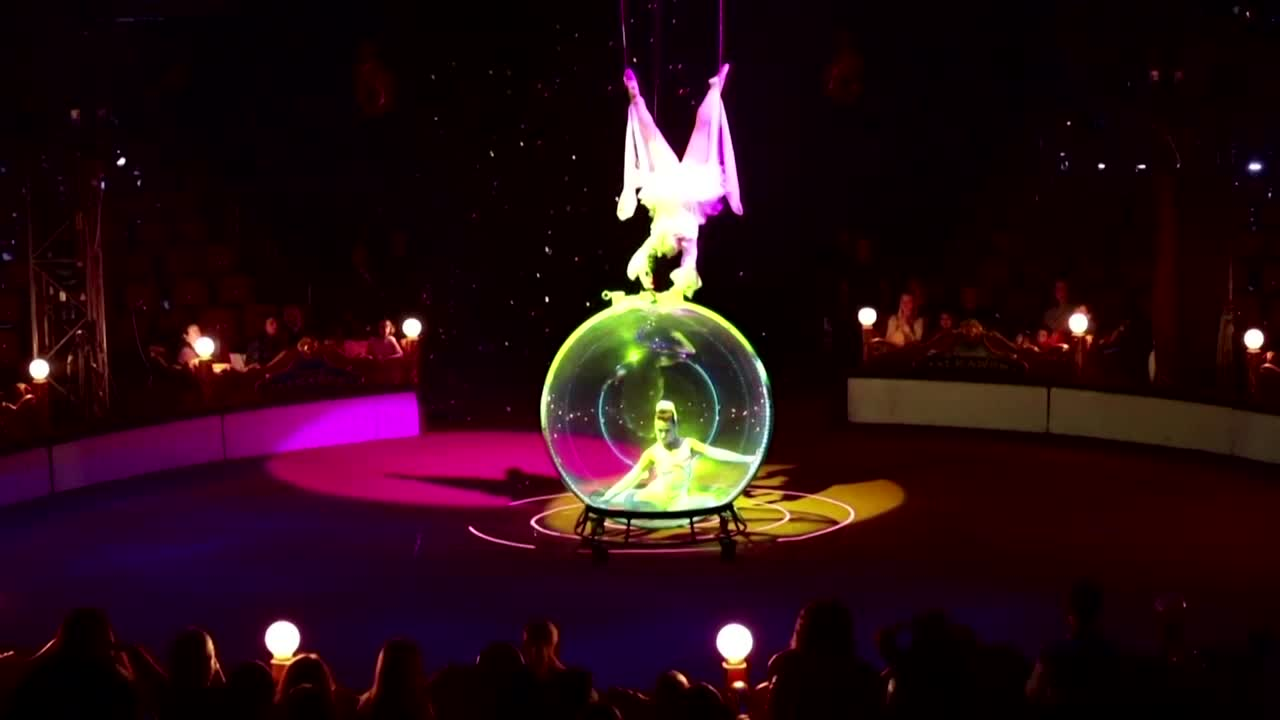 On a tightrope: Bulgarian circus struggles on