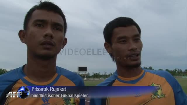 Fussball als Friedensstifter in Thailands Suden