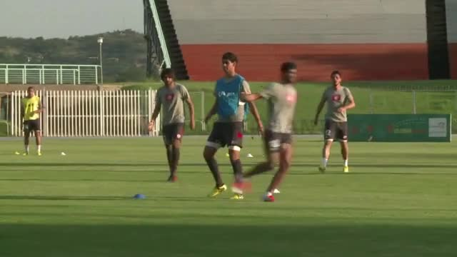 Tunisia, Ivory Coast train for Africa Cup clash