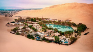 This Small Town in Peru is Built Around a Desert Oasis