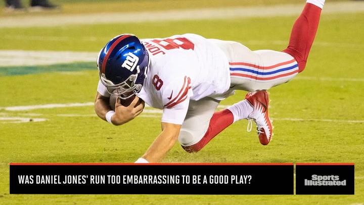 Was Daniel Jones' Run Too Embarrassing To Be Good?
