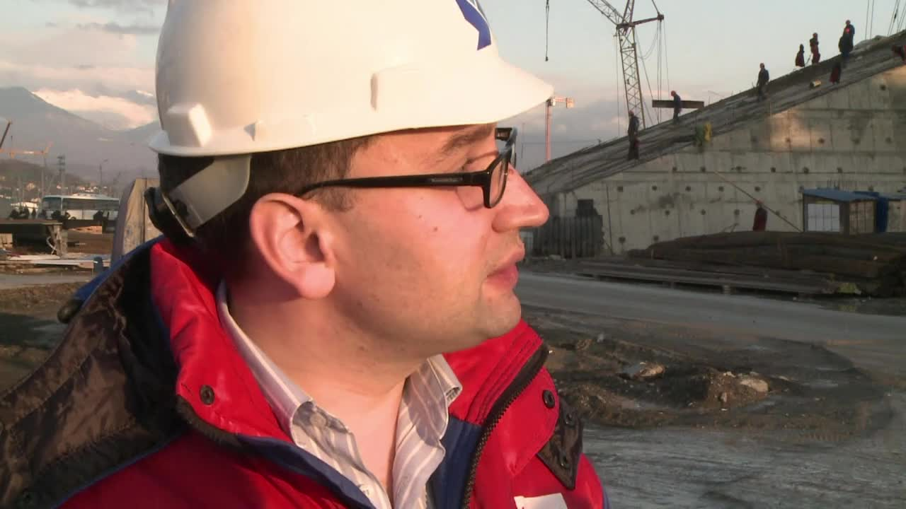 Sochi venues take shape a year ahead of Winter Oly