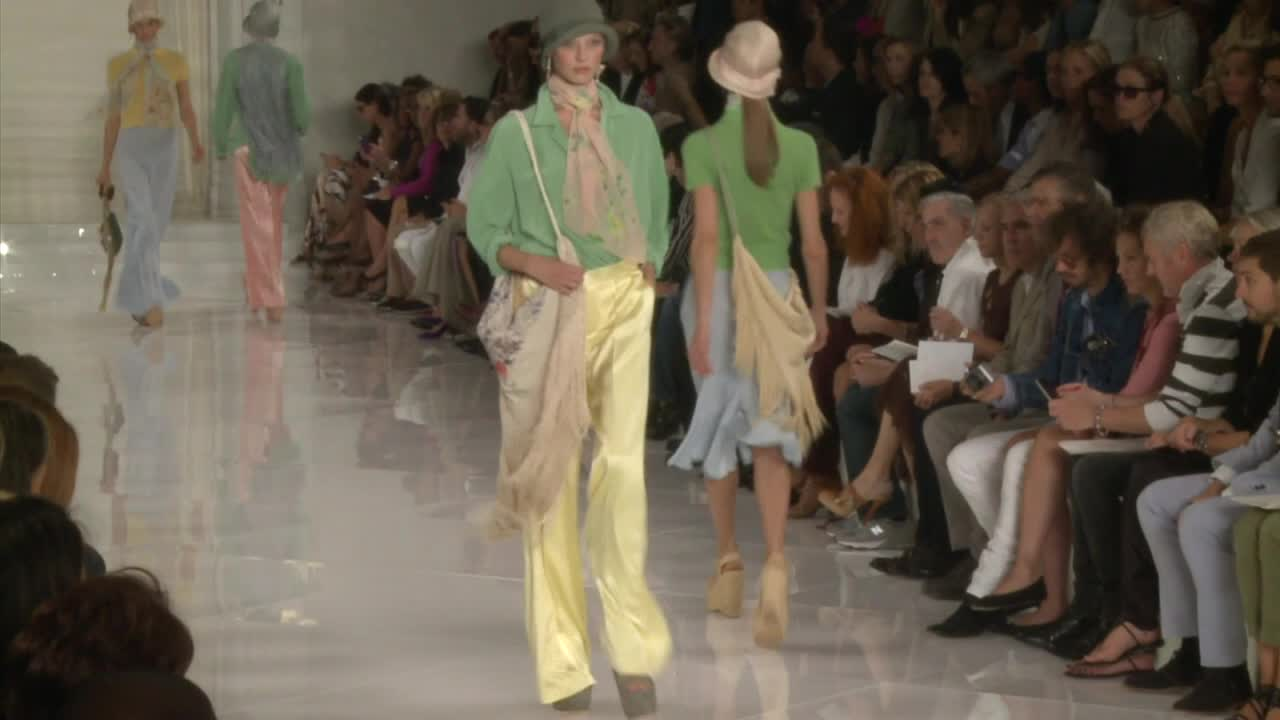 Ralph Lauren's Fashion Show - Woman's Prêt-à-Porte