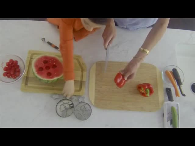 Fun Ways To Cut Fruits and Vegetables