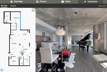 Real Estate Virtual Tour Floor Plan
