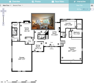 Real Estate Virtual Tour Floor Plan