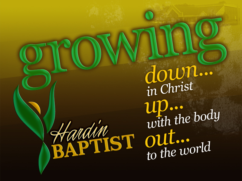 Growing: Down in Christ Part 2 Image