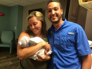Levi's birth