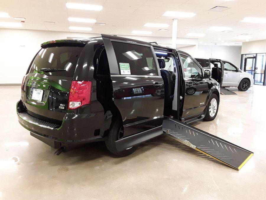 Black Dodge Grand Caravan image number 12