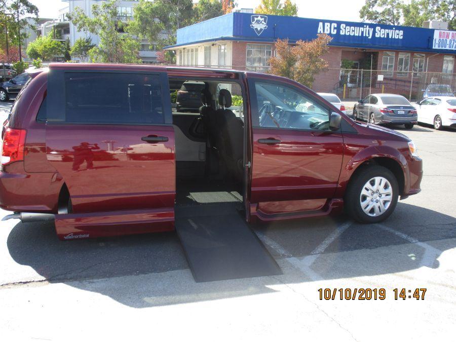Red Dodge Grand Caravan image number 13