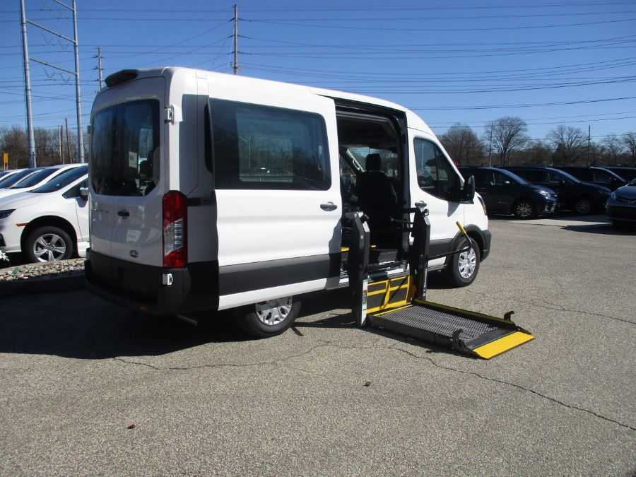 White Ford Transit Passenger image number 3