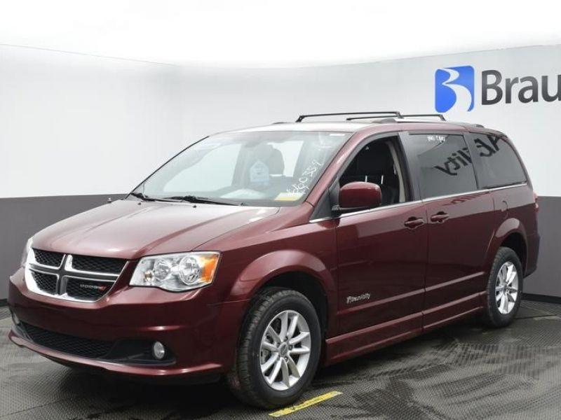Red Dodge Grand Caravan image number 1